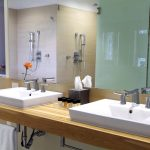 Sinks and large shower