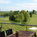 Lenape Heights Golf Course from the balcony of the Bar & Grill