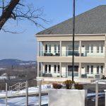 Lenape Heights Inn Exterior in Winter