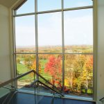 large windows at Lenape Heights