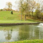Water feature at Golf Course