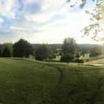 Golf green at Lenape Heights